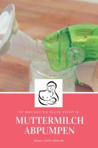 Muttermilch Richtig Abpumpen Still Hilfede